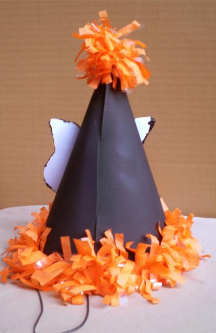 Black Cat Party Hat