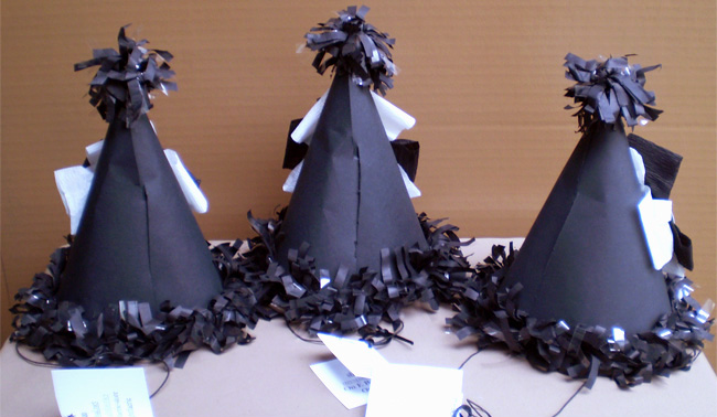 Macabre Celebration Hats