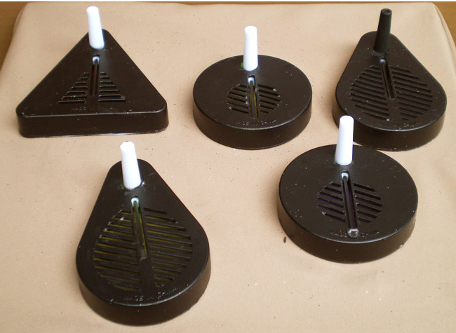 Set of 5 Spider Web Noisemakers