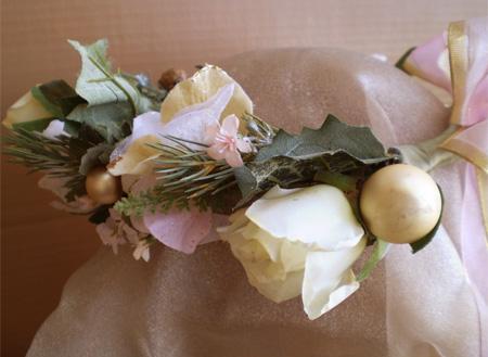 Sugary Pink Faerie Head Wreath
