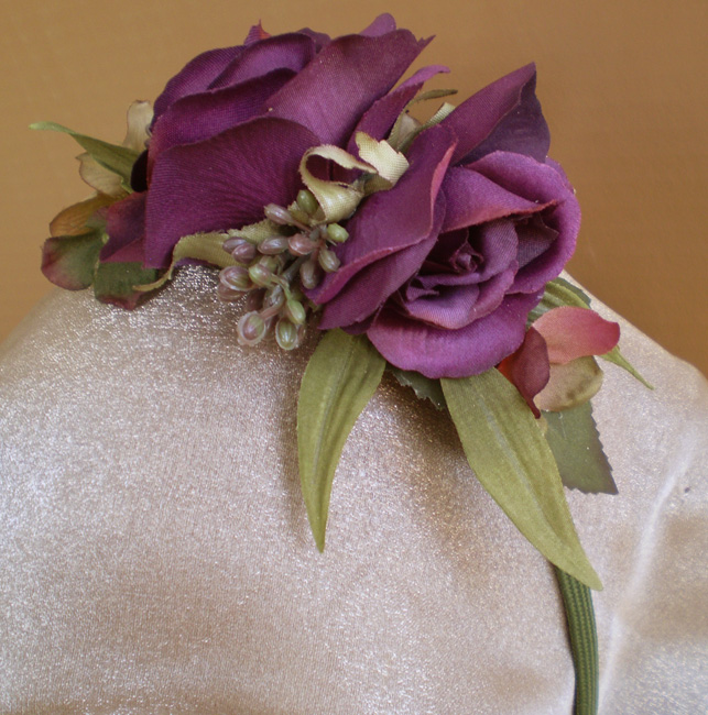 Plum Rose Sprite Head Band