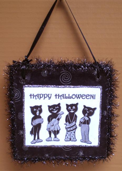 Halloween Cat Band