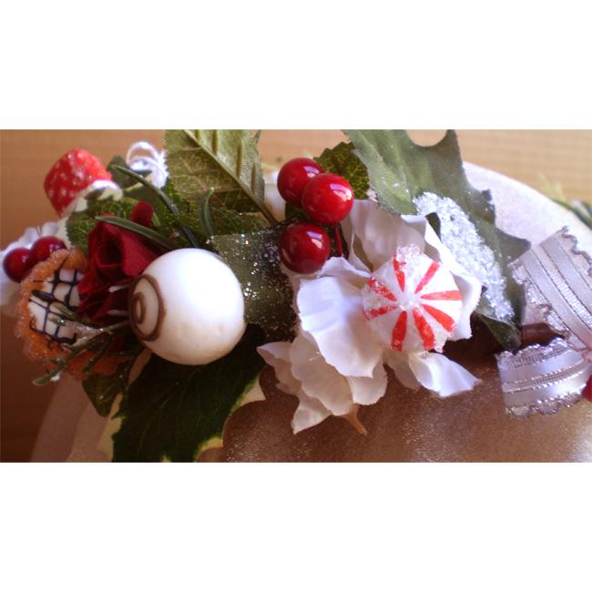 Christmas Candy Head Wreath