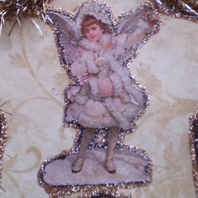 Victorian Snow Angel