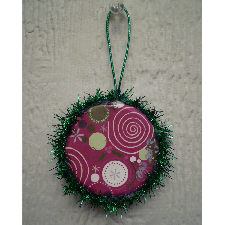 Tin Retro Spider Ornament-Sold